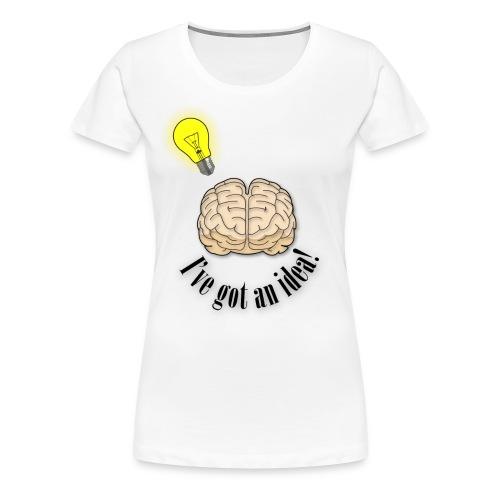 Brainstorm - Women's Premium T-Shirt