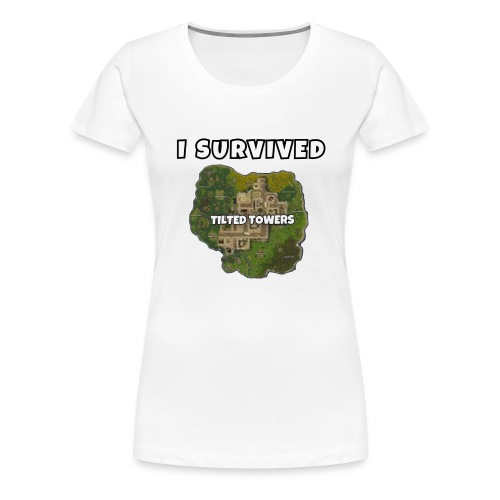 I SURVIVED TILTED TOWERS - Women's Premium T-Shirt