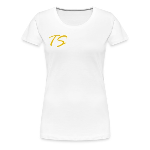 TS LOGO-GOLD VERSION [LIMITED EDITION] - Women's Premium T-Shirt