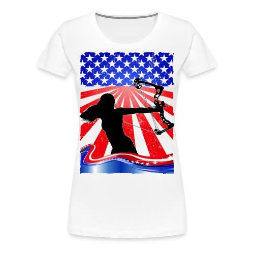 Bowhunter - Women's Premium T-Shirt