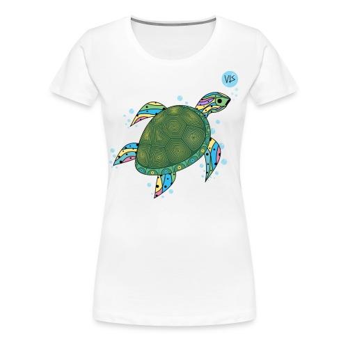 Vis - Turtle - Women's Premium T-Shirt