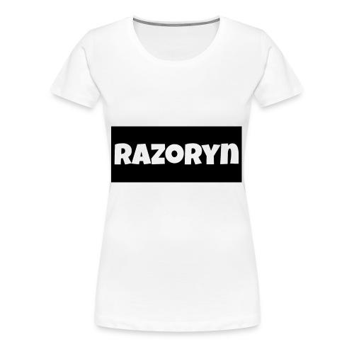 Razoryn Plain Shirt - Women's Premium T-Shirt