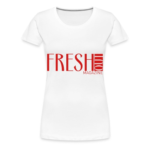 Fresh Out Magazine T-Shirt - Women's Premium T-Shirt