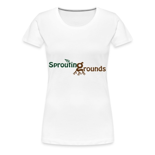 Sprouting Grounds 2016 - Women's Premium T-Shirt