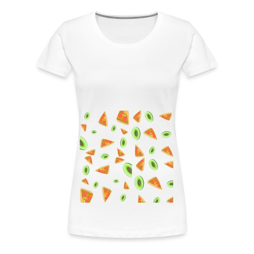 The PizzaCados - Women's Premium T-Shirt