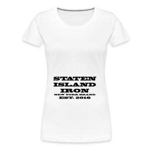 SIIRONBRAND2 - Women's Premium T-Shirt