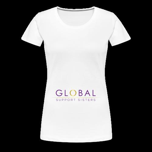 Global Support Sisters - Women's Premium T-Shirt
