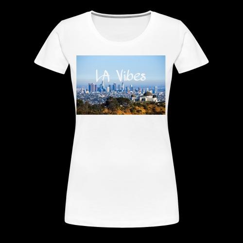 LA Vibes - Women's Premium T-Shirt