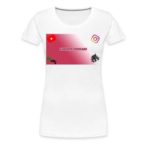 SaKred Banner - Women's Premium T-Shirt