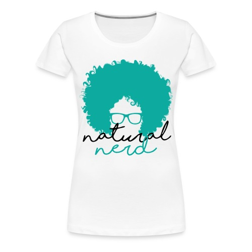 Natural Nerd - Women's Premium T-Shirt