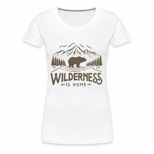 Wild Series - Wilderness - Women's Premium T-Shirt
