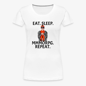 GRM Adrian MMORPG Mantra - Women's Premium T-Shirt