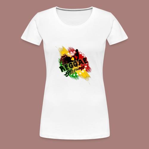 Reggae Offspring PNG - Women's Premium T-Shirt