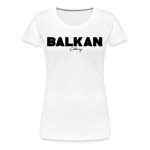 Original Balkan Clothing. Logo - Women's Premium T-Shirt