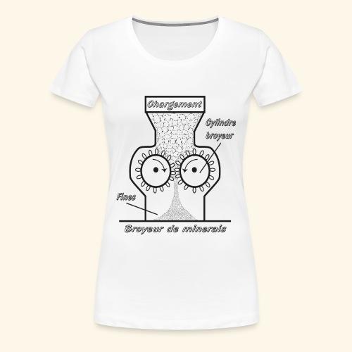 minerais - Women's Premium T-Shirt