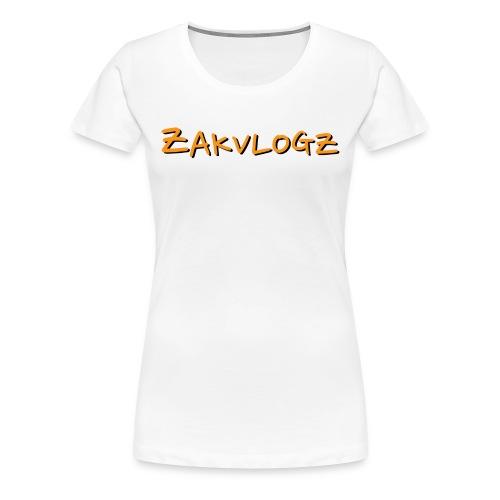 ZakVlogz - Women's Premium T-Shirt
