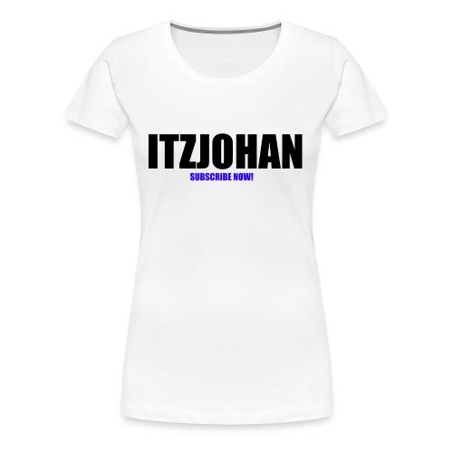 ItzJohan! - Women's Premium T-Shirt