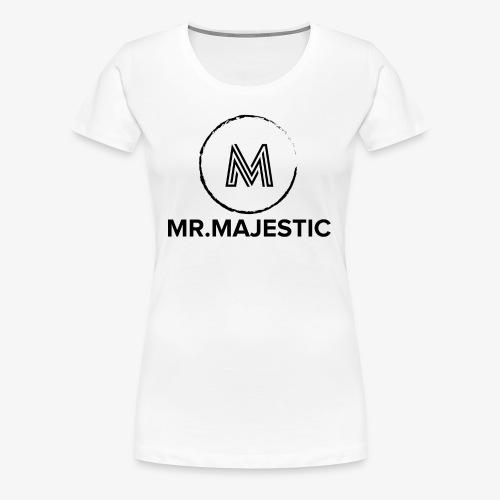 Majestic logo - Women's Premium T-Shirt