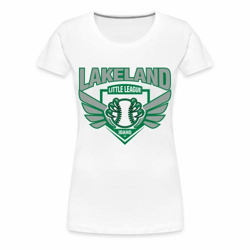 525fe23b8b lakeland bw - Women's Premium T-Shirt