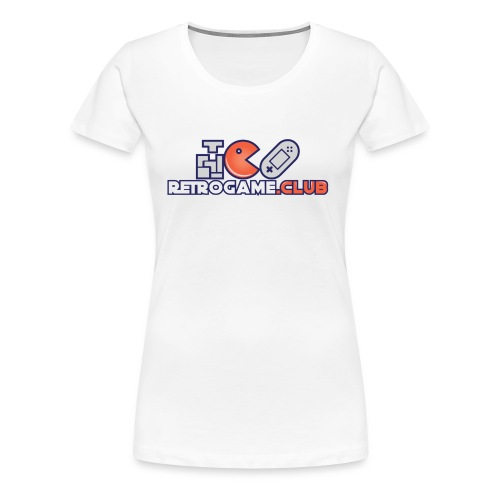 Retro Game Club - Women's Premium T-Shirt