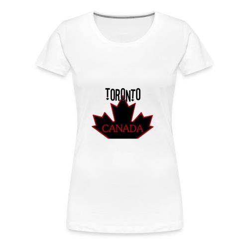 TORONTO CANADA - Women's Premium T-Shirt