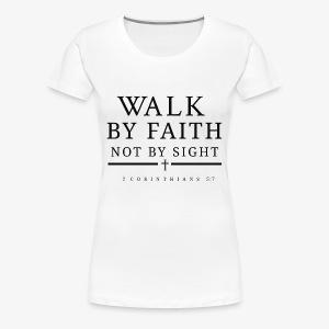Corinthians 5:7 - Women's Premium T-Shirt