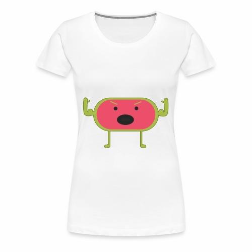 Angry Watermelon - Women's Premium T-Shirt