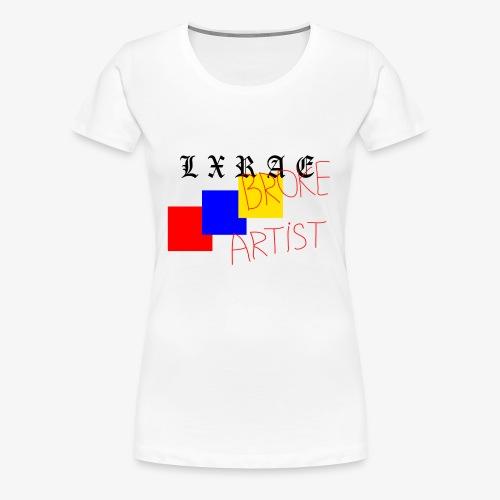 BROKE ARTIST - Women's Premium T-Shirt