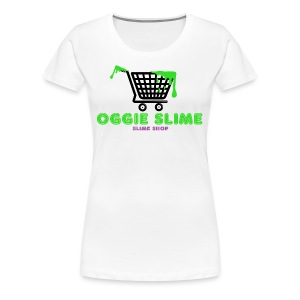 Oggie Slime (Slime Shop) Apparel - Women's Premium T-Shirt