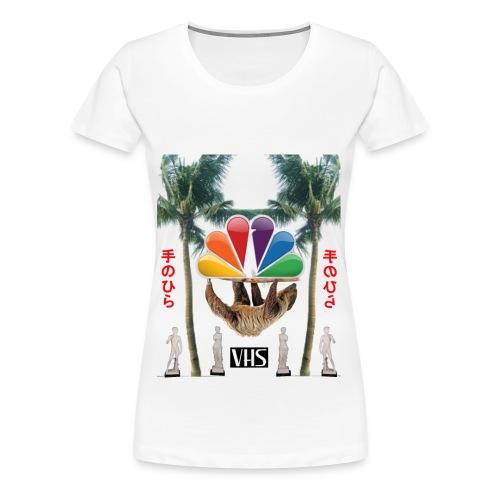 空のデータ - Women's Premium T-Shirt
