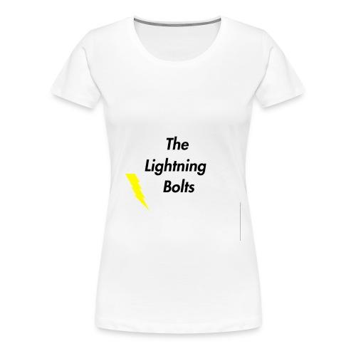 The Lightning Bolts - Women's Premium T-Shirt