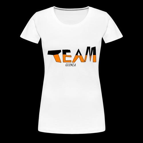 Team Guinea - Women's Premium T-Shirt