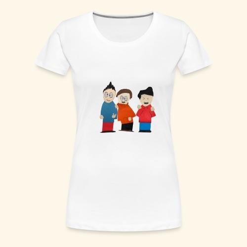 Mark, Will, & Milton! - Women's Premium T-Shirt