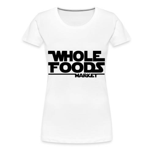 WHOLE_FOODS_STAR_WARS - Women's Premium T-Shirt