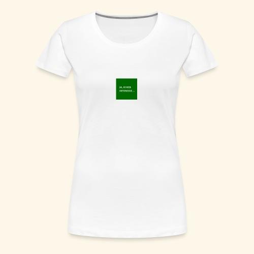 interesse - Women's Premium T-Shirt
