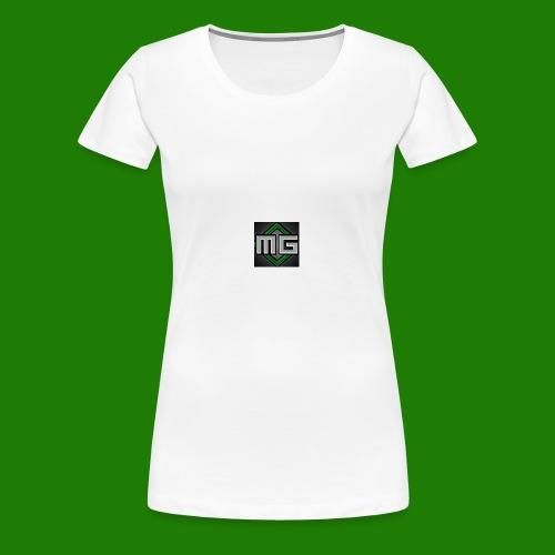 MrGreenGaming Logo Phone Cases - Women's Premium T-Shirt