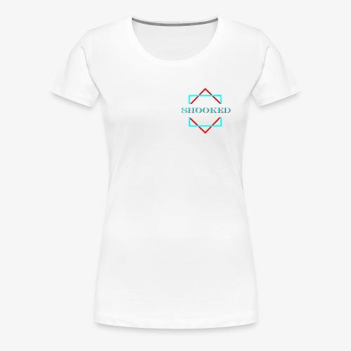 SHOOKED - Women's Premium T-Shirt