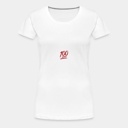 keep it 100 - Women's Premium T-Shirt