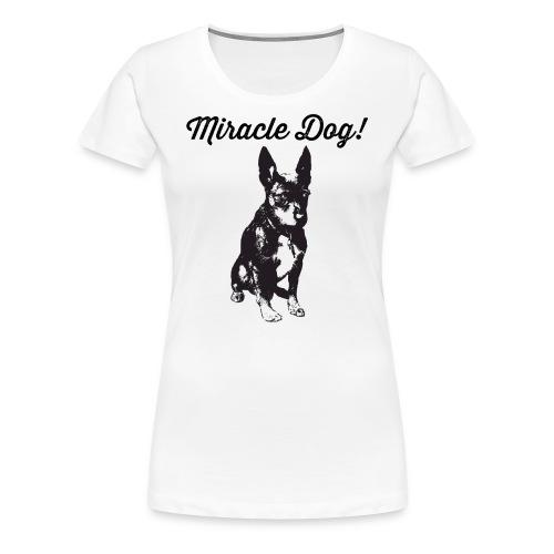 miracle dog - Women's Premium T-Shirt
