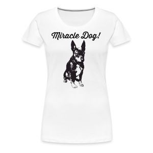 miracle dog - Women's Premium T-Shirt
