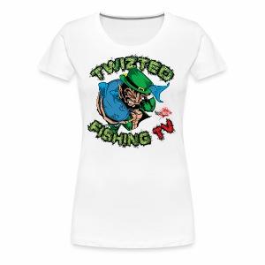 Official Twizted Fishing TV Logo!! - Women's Premium T-Shirt