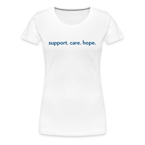 Dark Blue - Horizontal - Women's Premium T-Shirt