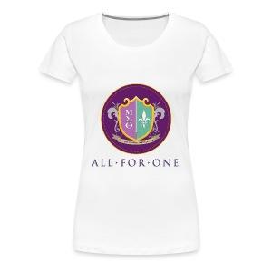 All For One Logo - Women's Premium T-Shirt