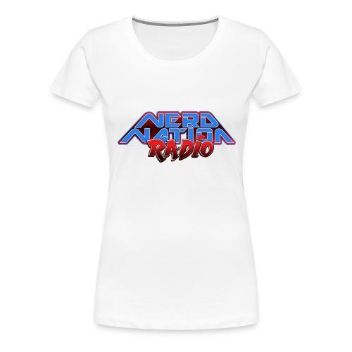 Nerd Nation Logo - Women's Premium T-Shirt