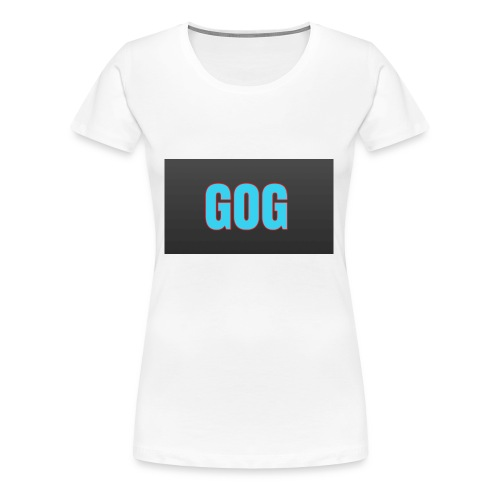 The simple gog T-shirt - Women's Premium T-Shirt