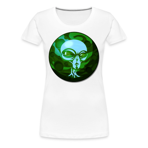MarshynsWrld DvNk Green - Women's Premium T-Shirt