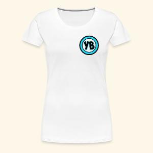 YB LOGO - Women's Premium T-Shirt