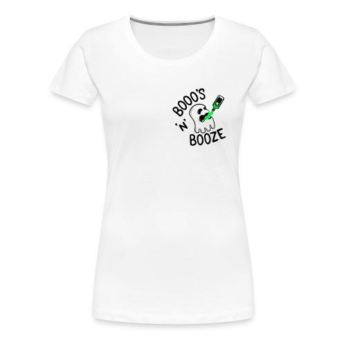 Booo's 'N' Booze - Women's Premium T-Shirt