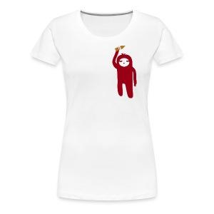 Minimalist Marsupial WITH A 40 - Women's Premium T-Shirt