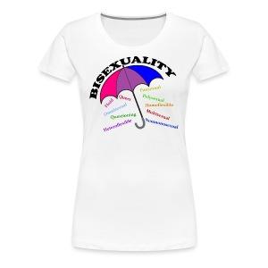 Bi+ Umbrella - Women's Premium T-Shirt